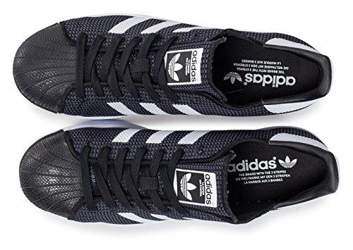 Et Blanche 40 Noire adidas Mesh Superstar Noir CwTgqg