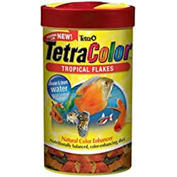Tetra 77157 TetraColor Tropical Flakes, 0.42-Ounce, 85 ml
