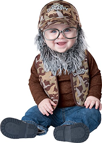 Baby Halloween Costume-Duck Dynasty Baby Uncle Si Baby Costume 6-12 ()
