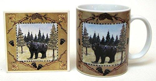 IWGAC 0126-44271 Bear Cup-Coaster Set