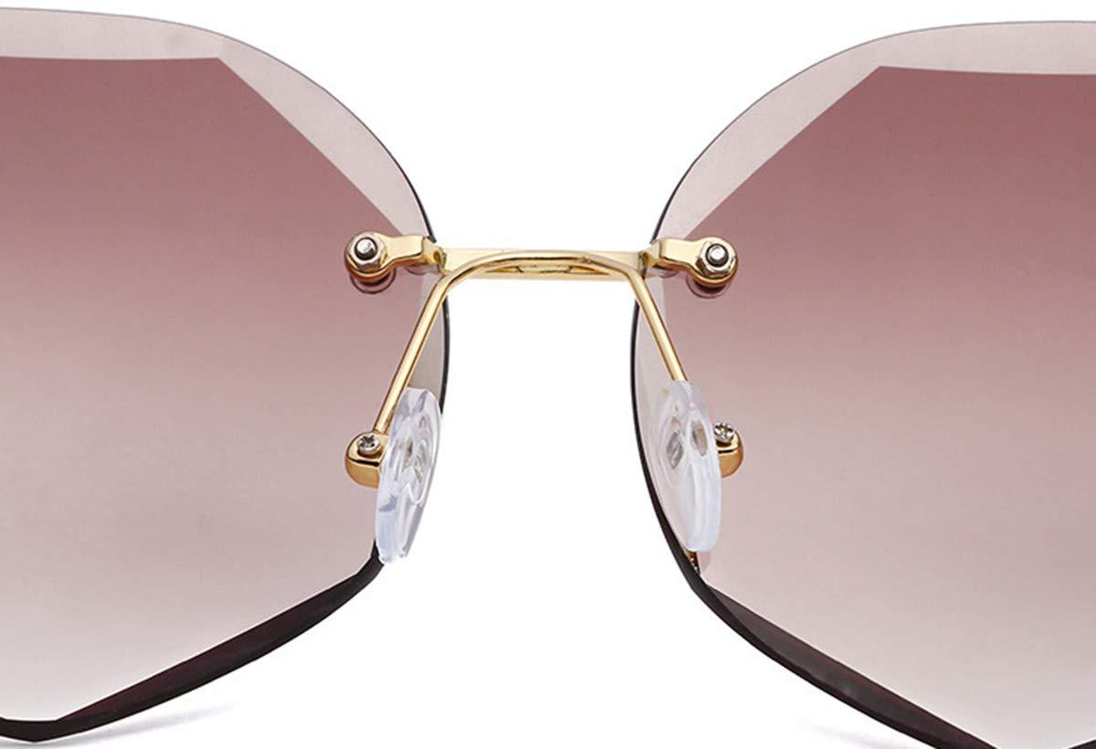 gafas de sol para mujeres y hombres gafas de sol DaQao Gafas de sol hexagonales gafas antiradiaci/ón cl/ásicas marco de metal gafas de bicicleta vintage modernas