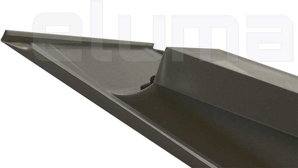 Claraboya Tragaluz por el acceso al techo//Tapajuntas incluido Ventana para tejadoBASIC VASISTAS 55x45 Base x Altura apertura tipo Velux