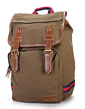 Tommy Hilfiger Workhorse Backpack, Khaki, One Size