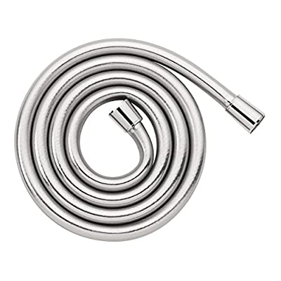 hansgrohe Techniflex B 63-inch Replacement Handheld Shower Hose with Flexible Non Metal Design in Chrome, 28276003