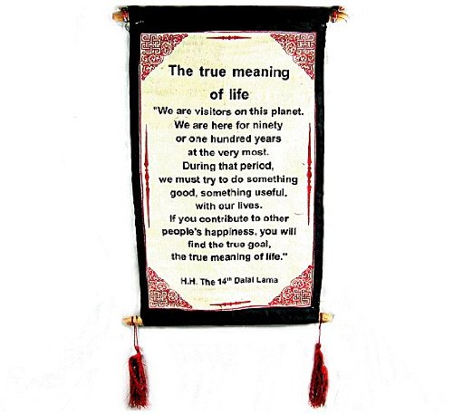 QUOTES Cotton Canvas Meaning Natural