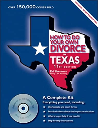How to do your own divorce in texas a complete kit ed sherman how to do your own divorce in texas a complete kit 11th edition solutioingenieria Image collections