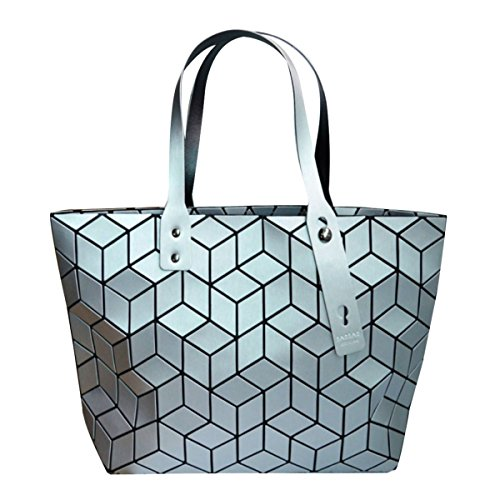 Silver Clutch Meliya Purse Laser Holographic Envelope Womens Handbag Fashion Leather Bag 2 Shoulder qwqH8PrvT