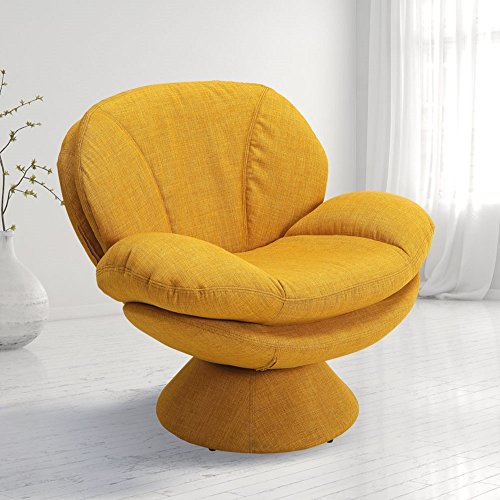 Mac Motion Comfort Chair Pub Leisure Accent Chair in Straw Fabric