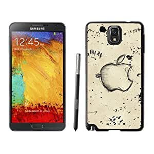 Apple Sketch Hard Plastic Samsung Galaxy Note 3 Protective Phone Case