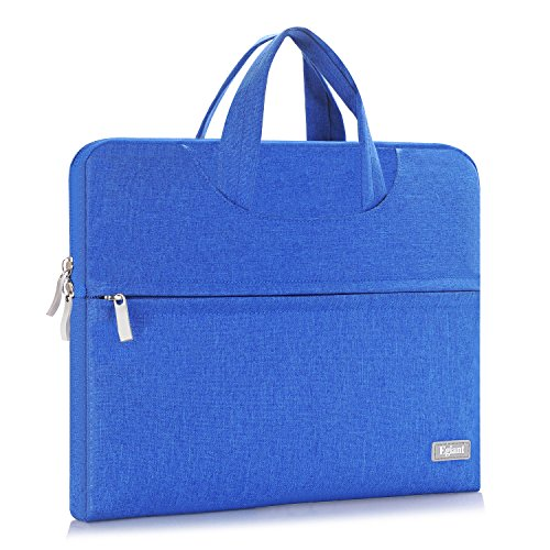 Egiant Fabric Waterproof Laptop Sleeve Case Protective Bag with Handle for 11.6