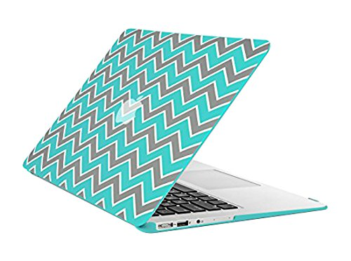 TopCase Chevron Turquoise Rubberized Macbook
