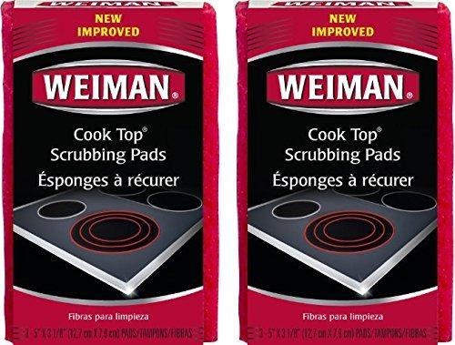 Weiman Cook Scrubbing Pads Pack