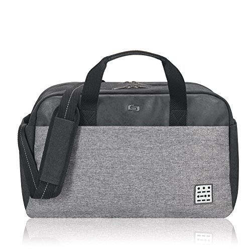Cheap Solo Impulse 17.3 Inch Laptop Duffel, Black/Grey