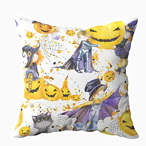 Yecationy Decorative Pillow Covers, Square Throw Pillow Covers