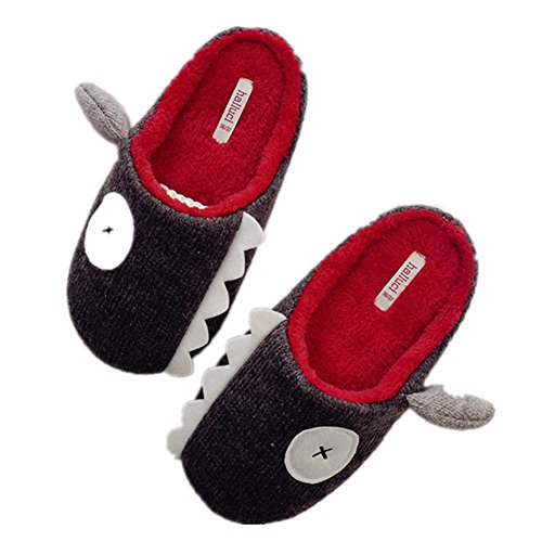 Home Sole Plush Bigface Indoor Slippers Womens Pattern Shark Fuzzy Up Warm Soft Sheep Slippers xwSwCR0z