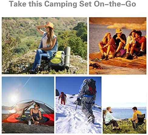 1-2 Personas Ligero y Port/átil Utensilios de Cocina Camping Pots Set para Exteriores C/ámping Mochilero Excursionismo Picnic 15 Piezas BelleStyle Utensilios Cocina Camping