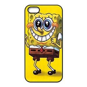 iPhone 5 5s Cell Phone Case Black sponge Bob 1 Vxvsq