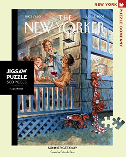 New York Puzzle Company - New Yorker Summer Getaway - 500 Piece Jigsaw Puzzle from New York Puzzle Company