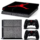MATTAY Air Jordan #3 Whole Body Vinyl Skin Sticker Decal Cover for PS4 Playstation 4 System Console and Controllers by MATTAY by MATTAY