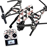 MightySkins Protective Vinyl Skin Decal for Yuneec Q500 & Q500+ Quadcopter Drone wrap cover sticker skins Marble Pyramids