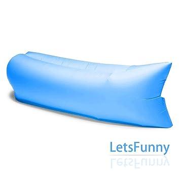 hinchable Matte Aire Lounger Colchón sofá Sacos de dormir ...