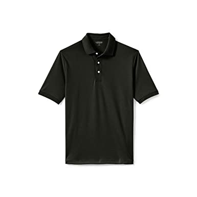 956ec7cf Lands' End Men's Big & Tall Supima Polo Shirt at Amazon Men's Clothing  store: