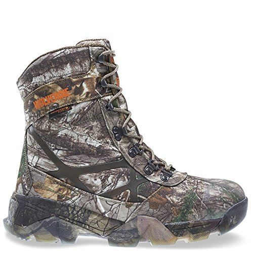 Wolverine Men's Archer 8 Inch Insulated Waterproof Hunting Boot, Realtree Extra, 10.5 W US