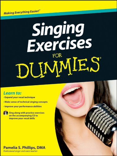 Singing Exercises For Dummies, with CD