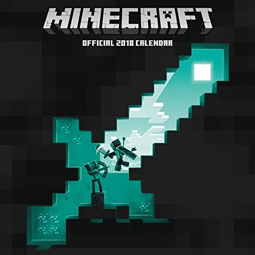 Minecraft Official 2018 Calendar - Square Wall Format