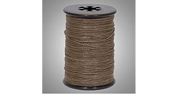 3/' BCY Metallic Bronze D Loop Material Archery Bowstring Rope Drop Away Cord