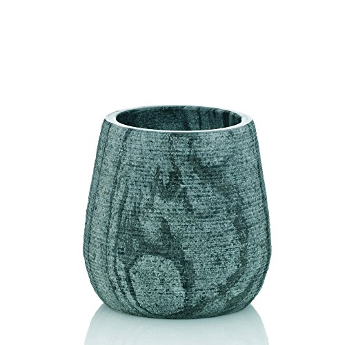 Kela Bathroom Tumbler Cup/Toothbrush Holder Cosmos Collection, Marble Grey ()