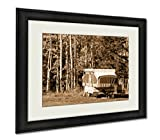 Ashley Framed Prints Fall In Steamboat Springs Colorado, Wall Art Home Decoration, Sepia, 34x40 (frame size), AG6200170