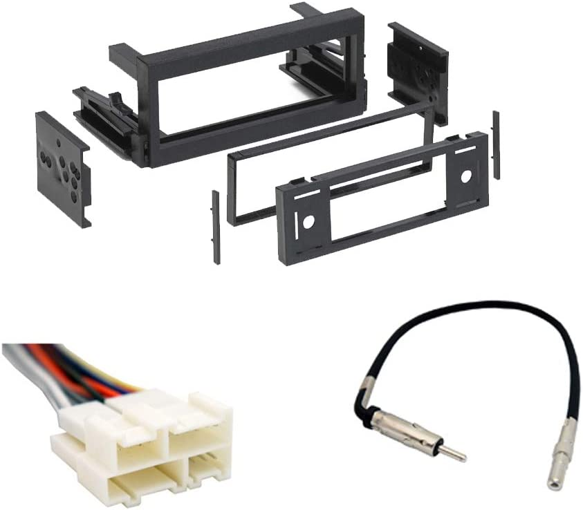 Amazon.com: Compatible with Chevy Astro Van 1996 1997 1998 1999 2000 2001  2002 2003 2004 2005 Single DIN Stereo Harness Radio Install Dash Kit  Package: Car ElectronicsAmazon.com