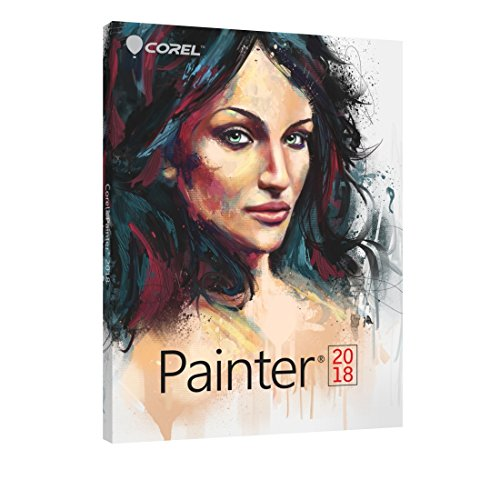 Corel Painter 2018 Digital Art Suite for PC/Mac - Education Edition by Corel