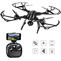 Foldable Mini RC Drone TOQIBO X34 WiFi FPV Drone With HD Camera 2.4Ghz 4CH 6 Axis Gyro RTF RC Quadcopter Equipped With Headless Mode One Key Take off Landing Easy Operation