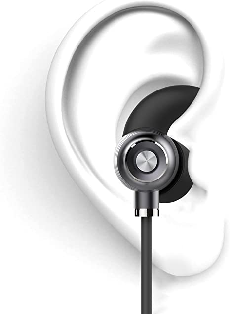 Apple Samsung,Google Pixel,LG works with BlackBerry Torch 9860 Bluetooth Headset In-Ear Running Earbuds IPX4 Waterproof with Mic Stereo Earphones CVC 6.0 Noise Cancellation