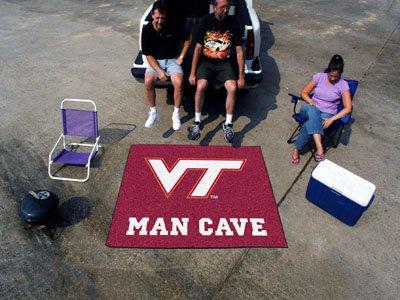(Virginia Tech Man Cave Tailgater Rug 60