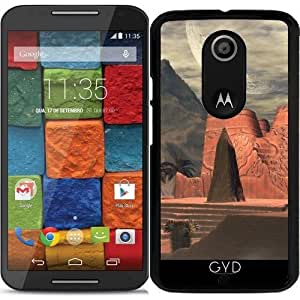Funda para Motorola Moto X (Génération 2) - Templo Impresionante En La Puesta De Sol by nicky2342