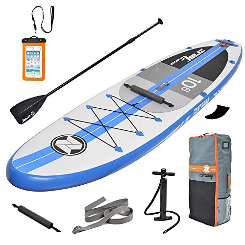 Zray A2 Paddle Board 10'6''Inflatable SUP Package, Pump/Paddle/Bakcpack Included, 6' Thickness