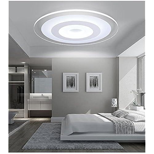 ANGEELEE LedCeiling moderne lampes et minimaliste et chaleureux ...