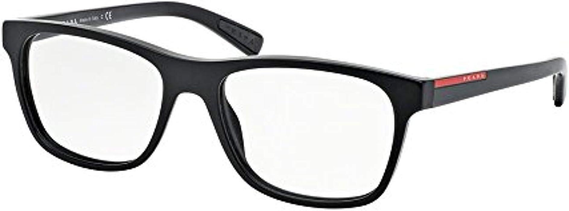 b218e94bcf Prada Linea Rossa Men s PS 01FVA Eyeglasses 55mm at Amazon Men s ...