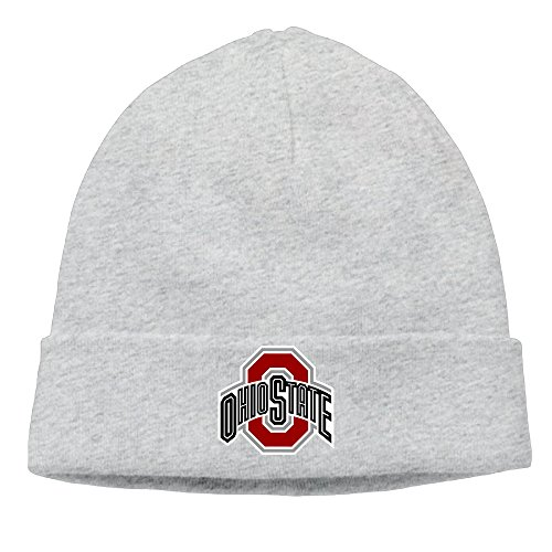 Ohio State Buckeyes Football Urban Meyer Skull Ski Hat Slouchy Beanie