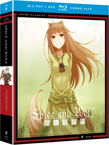 Blu-ray : Spice & Wolf: The Complete Series (Season 1 & 2) (With DVD, 2 Pack, 8 Disc)