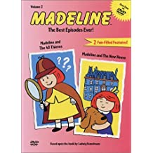Madeline - The Best Episodes Ever - Madeline and the 40 Thieves/Madeline and the New House (Vol. 2) by Christopher Plummer