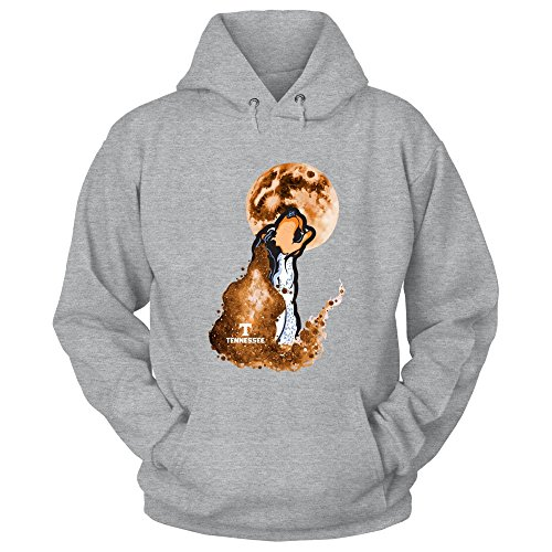 Tennessee Volunteers - Missing You - Gildan Unisex Pullover Hoodie - Officially Licensed Fashion Sports Apparel