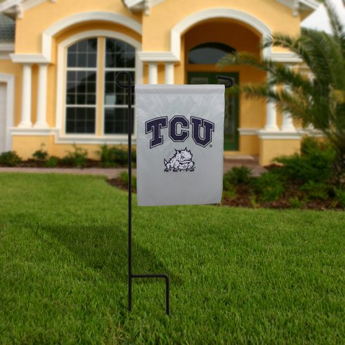 NCAA TCU Horned Frogs 12.5'' x 18'' Two-Sided Garden - The At Gardens Pembroke Shop