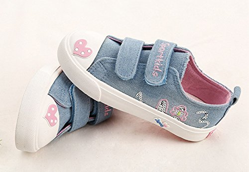 Sommer Eozy Low-top Sneaker Mädchen Kinder Sportschuhe Schuhe Blau Canvas