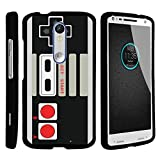 MINITURTLE Case Compatible w/ [Motorola Droid Turbo 2 Case, Kinzie Case, Moto X Force Case][Snap Shell] Hard Plastic Slim Fitted Snap on case w/ Unique Designs Game Controller For Sale