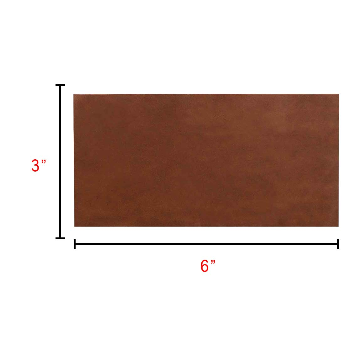 Hide /& Drink 8 Piece Set for Crafts//Tooling//Hobby Workshop :: Swayze Suede Heavy Weight 3 x 6 in. 1.6-1.8mm Rustic Leather Rectangles