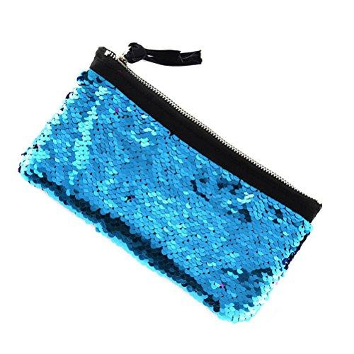 lavamano ragazze borsa trucco donne per multifunzione le viaggio blu da cosmetico Sacchetto trucco FENICAL appeso borsa n6x1B8wIq0